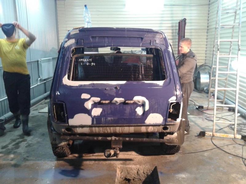 кузовной ремонт ВАЗ