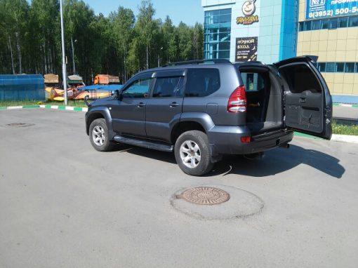TOYOTA Land Cruiser PRADO -кузовной ремонт,шумоизоляция
