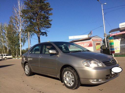 Локальный ремонт кузова Toyota Corolla