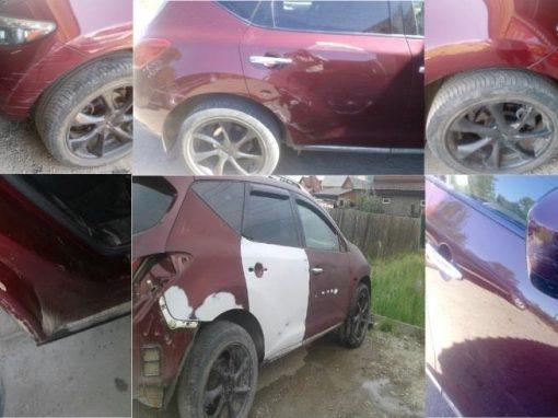 Устранение царапин,предпродажная подготовка Nissan Murano